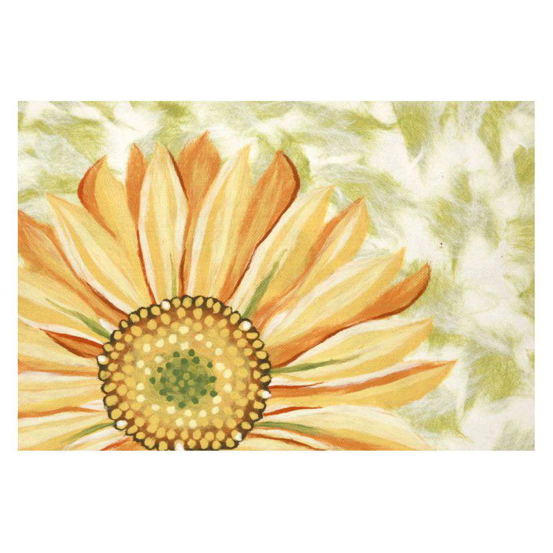Liora Manne Visions IV Sunflower Doormat by Supplier Generic