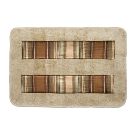 Popular Bath Contempo Bath Rug - Natural