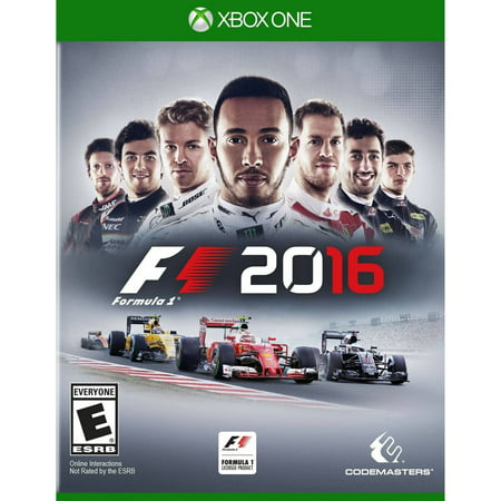 F1 Racing Drivers - F1 2016 (Day 1 Edition), Square Enix, Xbox One, 816819013465