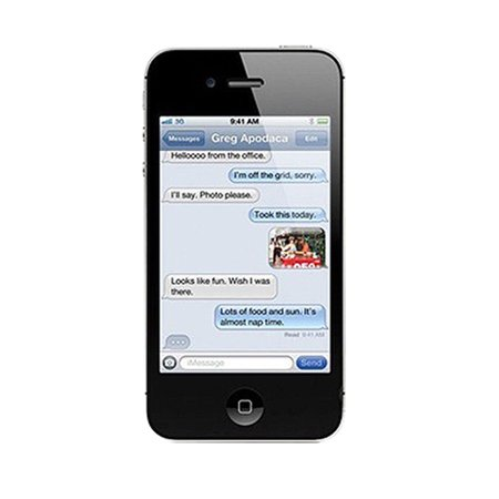 Unique Bargains 2 Pcs Anti Dust Clear LCD Screen Guard for Apple iPhone