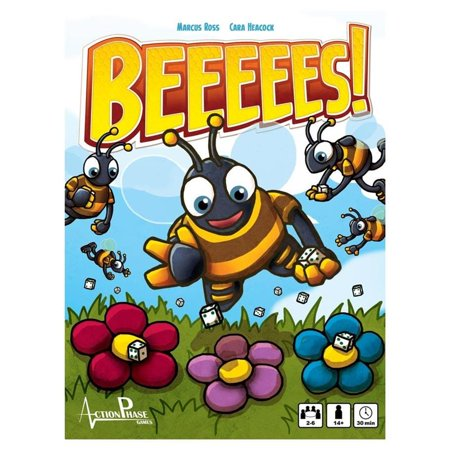 BEEEEES! Fast Paced Multiplayer Board Game Action Phase Games (Multiplayer Action)