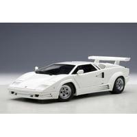 Lamborghini Countach 25th Anniversary Edition White 1/18 Diecast Model Car by Autoart