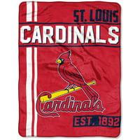 "St. Louis Cardinals The Northwest Company 46"" x 60"" Walk Off Micro Raschel Throw Blanket"