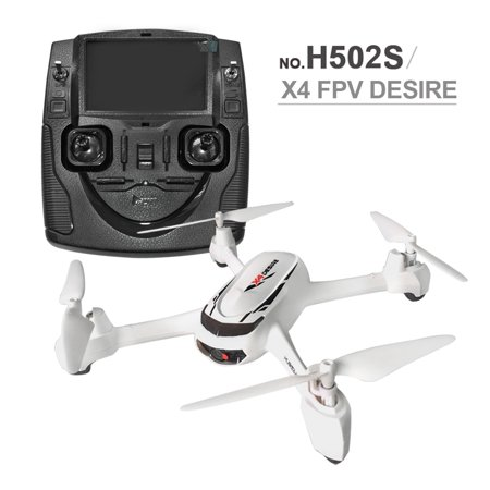 Hubsan X4 HD Camera Video GPS Altitude Mode RC Remote Control Quadcopter  Drones Helicopter Toys for Kids Teen Adults, White