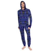 Doctor Who Exterminate Adult Navy One Piece Pajama Onesie Jumpsuit