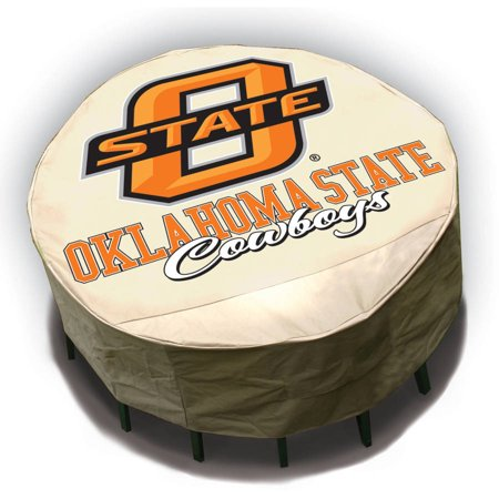 NCAA Mr. Bar-B-Q Round Table Cover, Oklahoma State University Cowboys ()