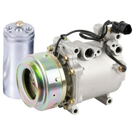 AC Compressor w/ A/C Drier For Mitsubishi Montero Sport 1997-2004 1989 Mitsubishi Montero Engine