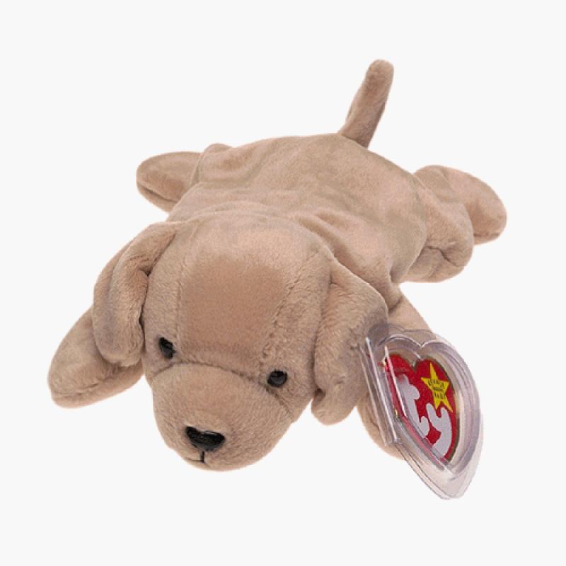 Ty Beanie Babies - Fetch the Golden Retriever Dog