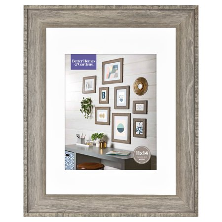 Better Homes & Gardens 11x14 Rustic Wood Gallery Frame (Wood Window Frame)