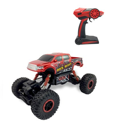 Helicopter 2.4 Ghz Metal - 2.4 GHz Toyota Tundra Rock Beast Crawling Truck