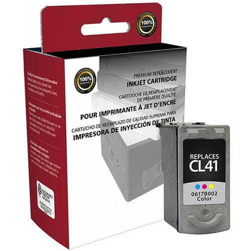 CIG Remanufactured Color Ink Cartridge (Alternative for Canon 0617B002 CL-41) (303 Yield)