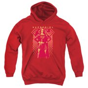 Supergirl Ready Set Youth Pullover Hoodie