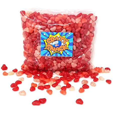 Jolly Rancher Jelly Beans Hearts, Valentine's Day Candy, 4 pounds bag - Jolly Rancher Jelly Beans