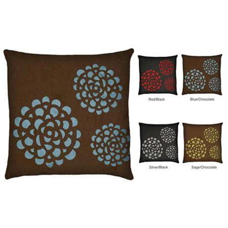 Special Edition By Lush Decor Sandra Pillows Blue Chocolate Set Of Impressive Lush Decor Pillows