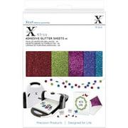 Xcut Xtra A5 Adhesive Glitter Sheets, 10pk