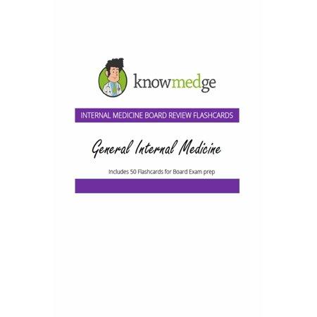 Internal Medicine Board Review Flashcards: General Internal Medicine - eBook (General Medicine)