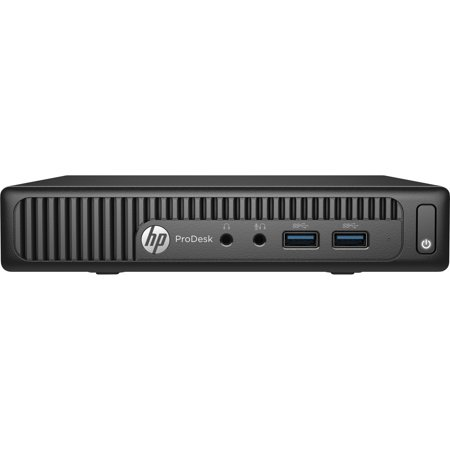 HP ProDesk 400 G2 Mini PC w/ Intel Pentium G4400T, 4GB RAM, & 500GB HDD