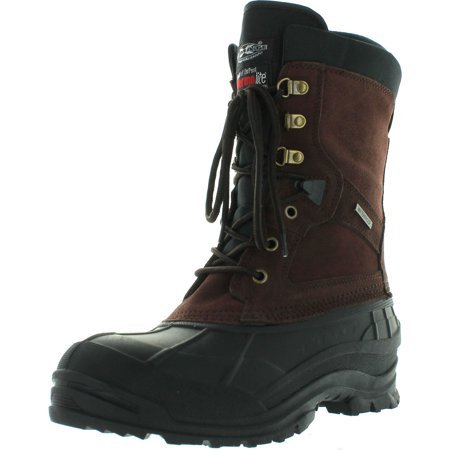 Climate X Mens YSC8 Winter Boots Brown 12 M US