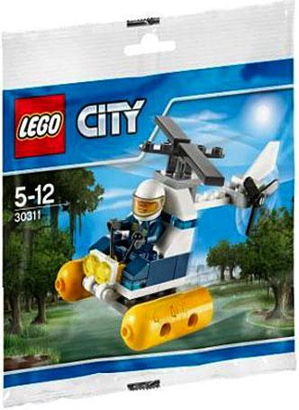 Lego City Swamp Police Helicopter Mini Set #30311 [Bagged] by Lego