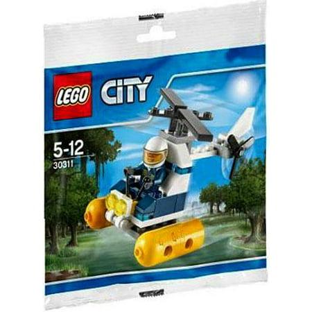 LEGO City Swamp Police Helicopter Mini Set #30311 [Bagged] (Lego Mine Set)