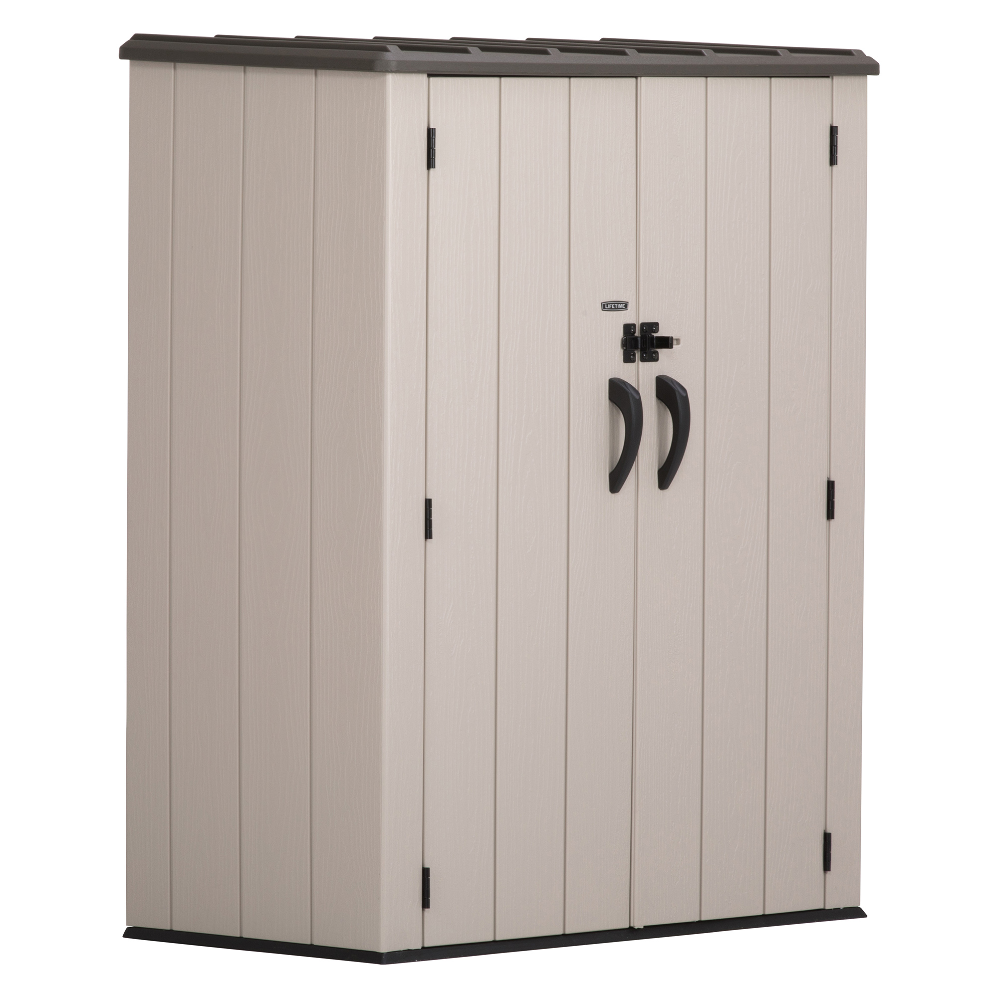 Lifetime Vertical Storage Shed (53 cubic feet), 60280