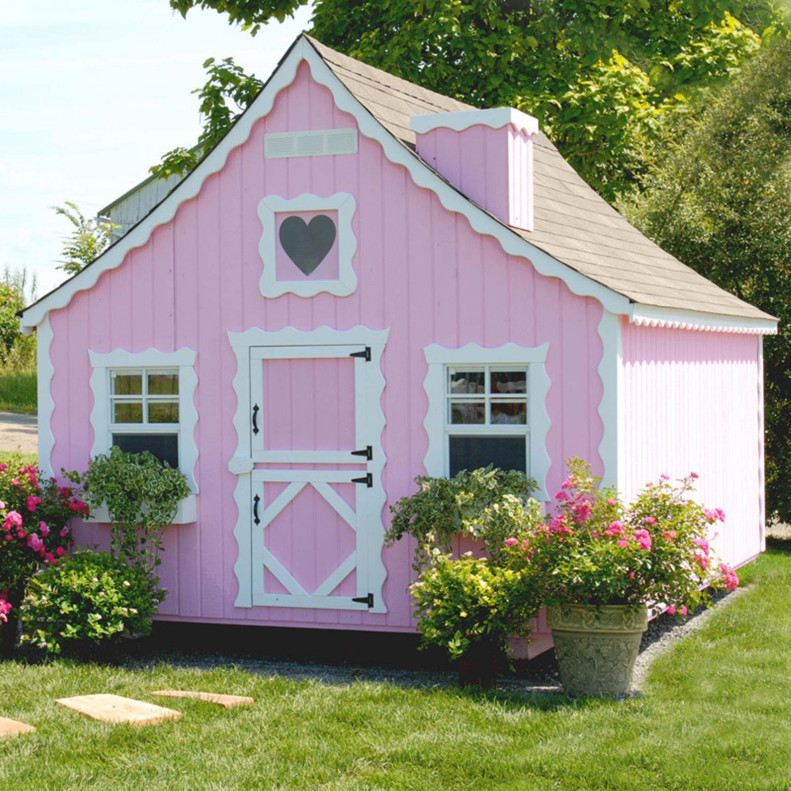 Little Cottage Gingerbread 8 x 12 ft. Wood Playhouse by Little Cottage Co