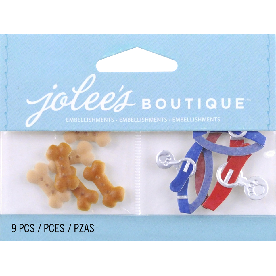 Jolees By You Large Dimensional Embellishment-Dog Treats and Colla