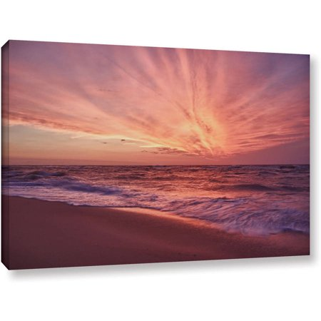 Artwall Dan Wilson  Outer Banks Sunset Iii  Gallery Wrapped Canvas