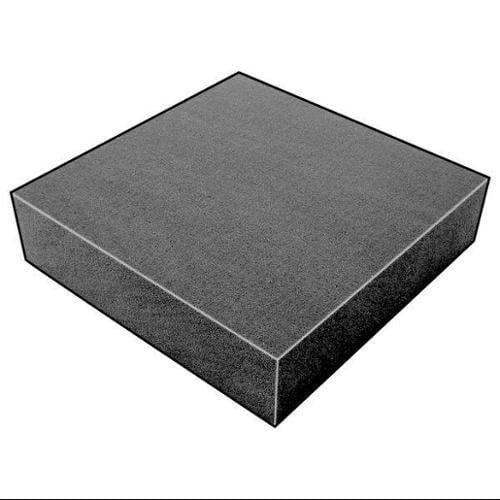 5GDF3 Foam Sheet, 300135 Poly, Chrcl, 1 1/2x36x36