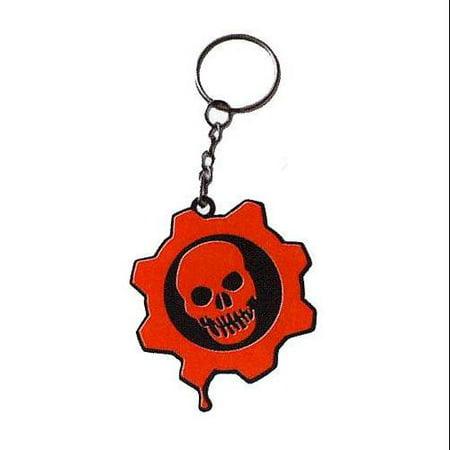 (Key Chain - - Rubber Crimson Omen New Licensed Toys 52033)