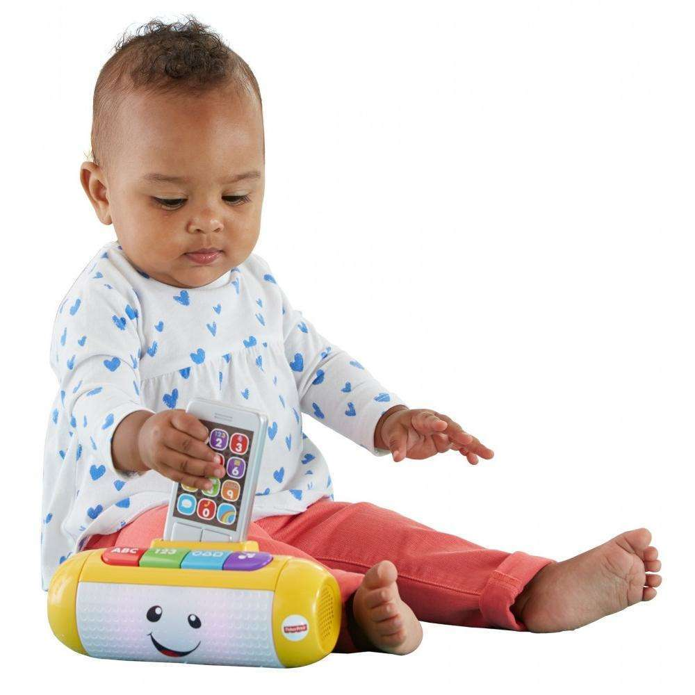 Fisher Price Laugh & Learn Light Up Learning Speaker by Fisher-Price