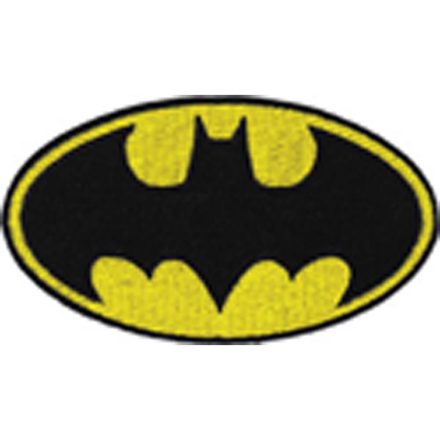 "DC Comics Patch, Batman Logo, 4"" x 2.25"""