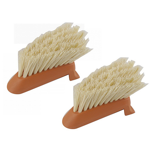 Full Circle Laid Back Dish Brush Replacement Brush Heads - 2 Ea