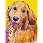"Trademark Art ""Molly"" Canvas Art by Pat Saunders-White"