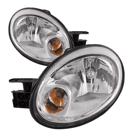 2003-2005 Dodge Neon New Headlights Set CH2502151 and CH2503151 Dodge Neon Headlamp Assembly