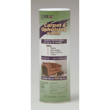 Zodiac ZO28000 Fresh Citrus Carpet and Upholstery Powder, 16 oz, Covers Upto: 300 sq-feet