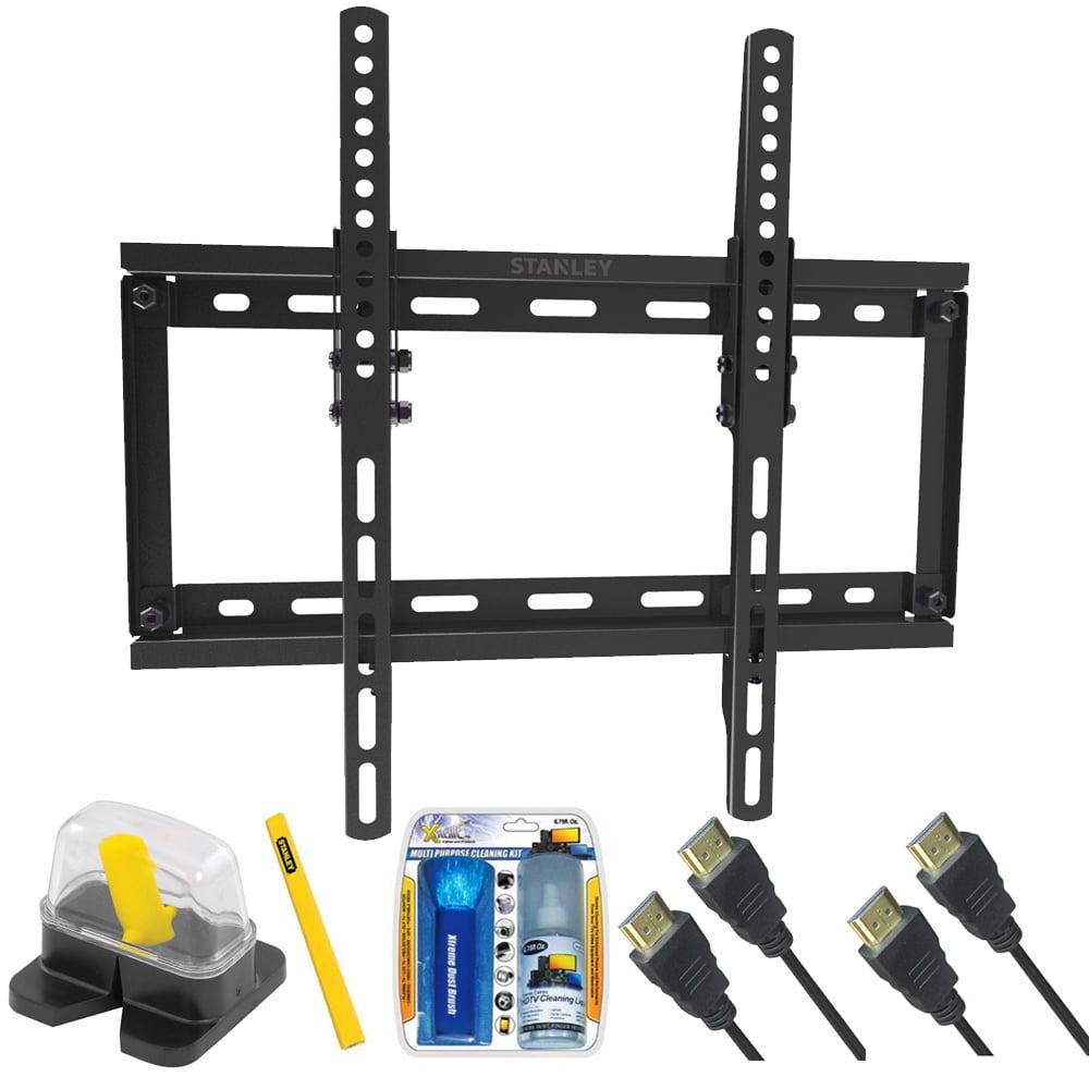 Stanley Diy Basics Medium Size Tilt Tv Mount For Size 23