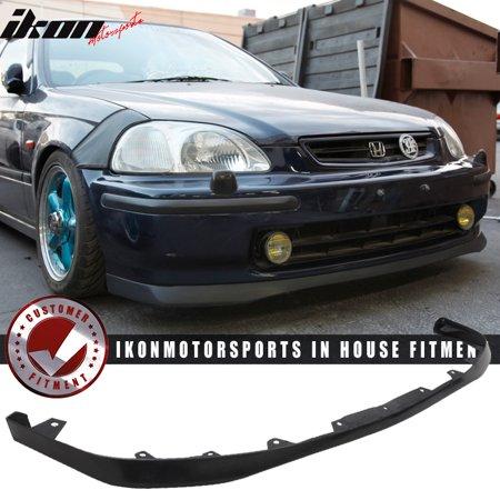 Fits 96 98 Honda Civic Ek 2dr 3dr 4dr Sir Oe Style Front Bumper Lip