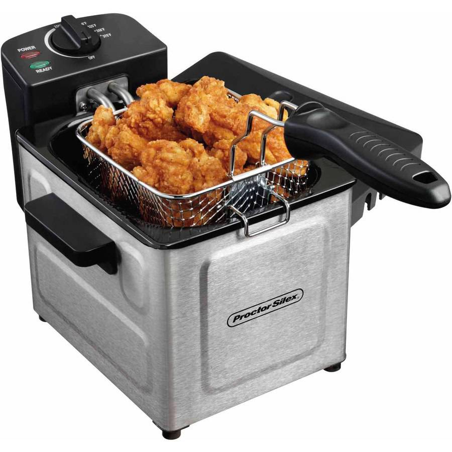 Proctor Silex 1.5 L Professional-Style Deep Fryer, Stainless Steel