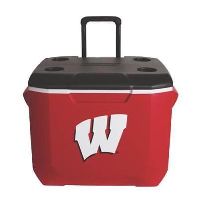 Coleman 60 Qt Wheeled University of Wisconsin Cooler (Coleman Cooler 60)