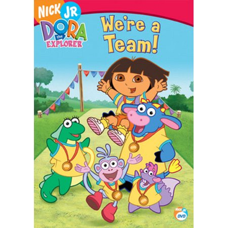 Dora The Explorer: We're A Team (DVD) - Dora The Explorer Halloween Episode