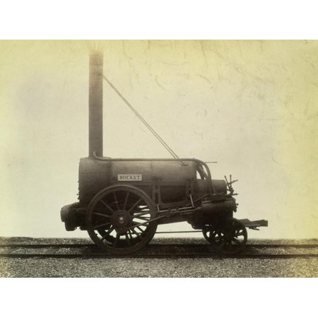The 'Rocket', locomotive designed by George Stephenson in 1829, c1905 Print Wall