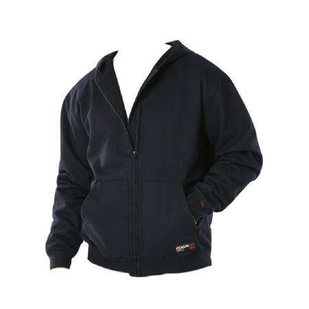 Cinch Work Sweatshirt Mens Wrx Flame Resistant Hoodie Navy