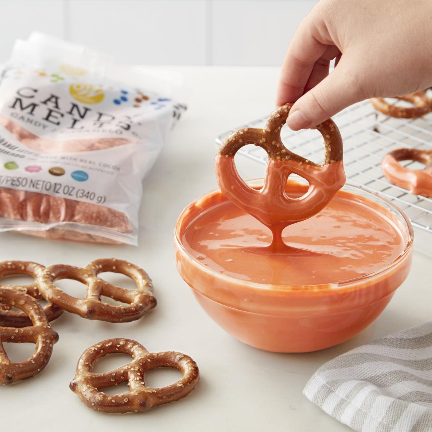 Wilton Orange Candy Melts Candy 12 oz Walmart