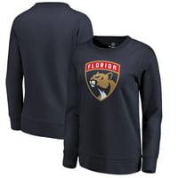 Florida Panthers Fanatics Branded Women's Primary Logo Pullover Sweatshirt - Navy