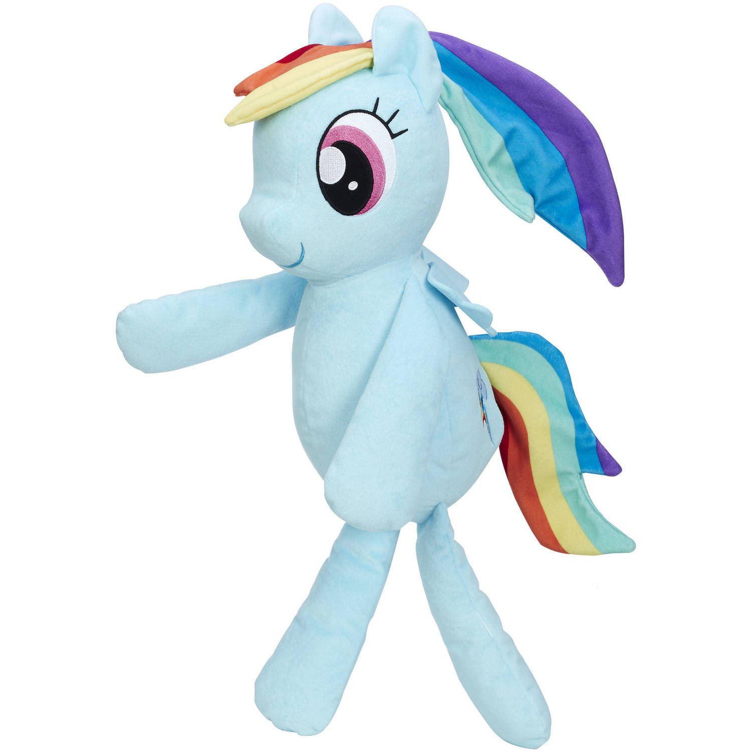 My Little Pony Friendship is Magic Rainbow Dash Huggable Plush by Hasbro