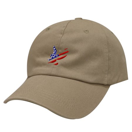 Eagles In The City (City Hunter C104 American Flag Eagle Cotton Baseball Dad Cap 19 Colors)