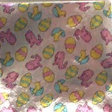 "4 X 4"" Easter Print Foil Candy Wrappers"