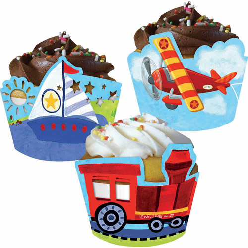 Creative Converting On The Go Cupcake Wrappers, 12pk