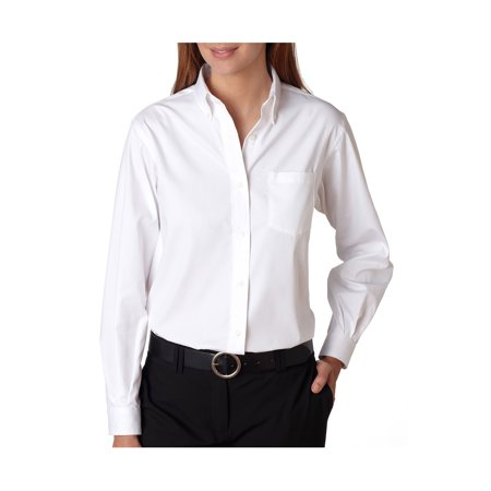 Van Heusen Women's Wrinkle Free Pinpoint Oxford Shirt, Style 13V0110